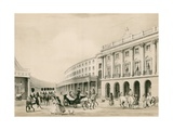 The Quadrant, Regent Street, London Giclee Print by Thomas Shotter Boys