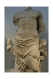 Zeus. Decoration of the Temple of Zeus in the Sanctuary of Olympia. Greece Giclee Print