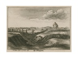 By Islington, the New River Head Giclee Print by Wenceslaus Hollar