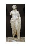 Statue of Dionysus, God of Wine Giclee Print