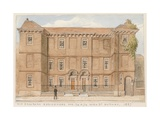 Old Jacobean Residences, Nos 72 and 74, High Street, Putney, London, 1887 Giclee Print by John Phillipp Emslie