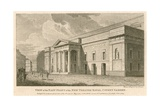 View of the East Front of the New Theatre Royal, Covent Garden, London Giclee Print by Samuel Rawle