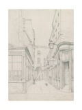 Earl's Court from Little Newport Street, London, Looking Towards Cranbourn Street Giclee Print by John Phillipp Emslie