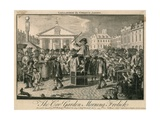 The Covent Garden Morning Frolic Giclee Print by Louis Philippe Boitard