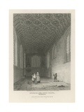 Interior of the Savoy Chapel Giclee Print by Frederick Nash