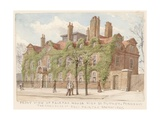 Front View of Fairfax House, Putney, London, the Residence of General Fairfax, 1887 Giclee Print by John Phillipp Emslie
