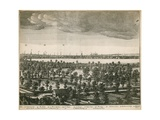 The Prospect of London and Westminster Taken from Lambeth Giclee Print by Wenceslaus Hollar