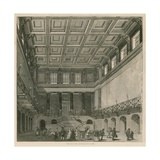 The Great Hall, Euston Square Station, London Giclee Print