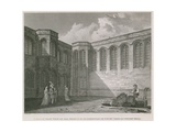A South West View of the Principal Quadrangle or Courtyard of Crosby Hall Giclee Print by Frederick Nash