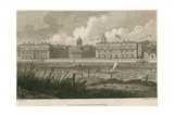 View of Greenwich Hospital, London Giclee Print by Edward Dayes