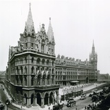 St Pancras Railway Station; Photograph from April 1899 Photographic Print