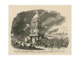 The Gin Juggarnath Giclee Print by George Cruikshank