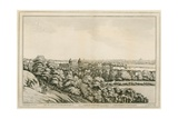 A View of Greenwich, London, and Up the River Thames Giclee Print by Joseph Farington