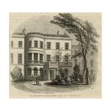 The Residence of Sir Robert Peel Giclee Print