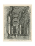 Interior of St Paul's Cathedral Giclee Print by Joseph Pennell
