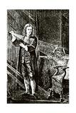 Isaac Newton (1643-1727) Giclee Print