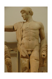 Apollo. Decoration of the Temple of Zeus in the Sanctuary of Olympia. Greece Giclee Print