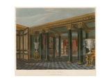 The Lower Vestibule, Carlton House, London Giclee Print by Charles Wild