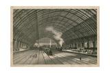 The Midland Railway Station, St Pancras, London Giclee Print