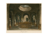 Gallery of the Staircase, Carlton House, London Giclee Print by Charles Wild