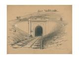Box Tunnel, London Giclee Print
