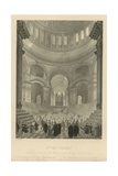 Anniversary Meeting of the Children of the Charity Schools of London Giclee Print by Frederick Mackenzie