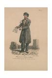 Marchands De Billets De Loterie Giclee Print by Carle Vernet
