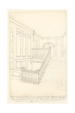 The Continuation of Staircase, from the Hall to the Upper Floors, of Fairfax House, High Street,… Giclee Print by John Phillipp Emslie