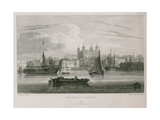 Tower of London Giclee Print by Samuel Owen