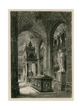 Interior of Westminster Abbey Giclee Print by Henri Toussaint