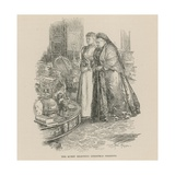The Queen Selecting Christmas Presents Giclee Print by Frederick Pegram