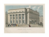 Italian Opera House, South Front, London Giclee Print by Thomas Talbot Bury