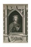 Henricus III Rex Giclée-Druck von George Vertue