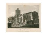 Stepney Church, London Giclee Print by Walter Wallis