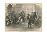 Scene from Charles I at the Lyceum Theatre, London Giclee Print