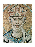 Pope Sylvester I (314-335). Mosaic in the Baptistery of St. Mark's Basilica Giclee Print