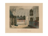 Tomb of Prior Rayhere, Church of St Bartholomew the Great, Smithfield Giclee Print by John Wykeham Archer