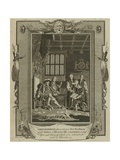 Lord Cromwell Presenting a New Translation of the Bible to King Henry Viii at London in the Year… Giclee Print by Samuel Wale