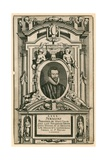 Dr John Donne, Late Deane of the Cathedral Church of St Paul's London Giclee Print by Mattaus The Younger Merian