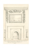 Carved Fireplace in Back Room on the Ground Floor Overlooking the Garden, Fairfax House, High… Giclee Print by John Phillipp Emslie