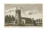 Stepney Church, London Giclee Print by Alois Schonn