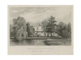 Claylands, the Seat of Mrs Fentima Giclee Print by Thomas Allom