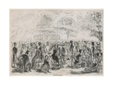 Kensington Palace Gardens, London Giclee Print by William Mcconnell