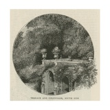 Terrace and Colonnade, South Side Giclee Print