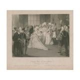 Drawing Room of Queen Victoria Giclee Print by Jacob Van Der Heyden