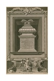 The Princes in the Tower Monument Giclee Print by George Vertue