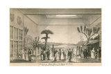Exhibition of Modern Mexico at the Egyptian Hall, Piccadilly, London Giclee Print by Agostino Aglio