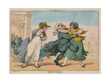 Spit Fires. Sessions House, Clerkenwell Giclee Print by Thomas Rowlandson