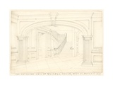 The Entrance Hall of Fairfax House, High Street, Putney, London Giclee Print by John Phillipp Emslie