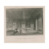 Birthday Celebrations in a Drawing Room at St James's Palace Giclee Print by Jacob Van Der Heyden